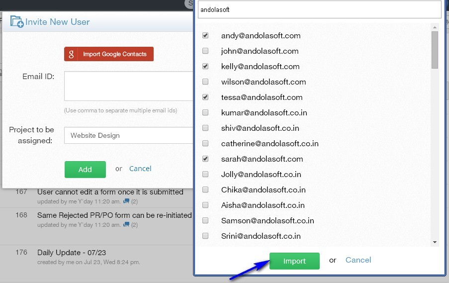how to get rid of excess task ids in project