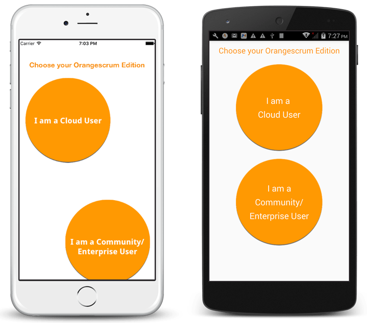Orangescrum SaaS Mobile App