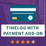 Timelog with payment AddOn
