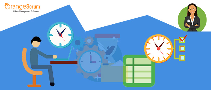 Simplified Time Tracking Timesheets with Orangescrum Project Management Tool