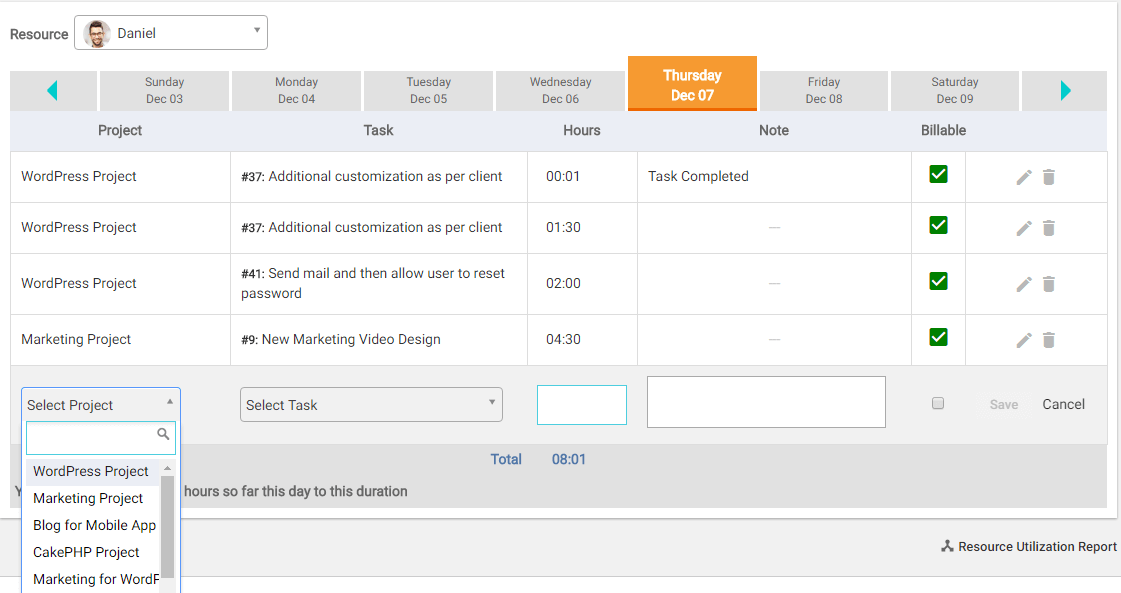 how to use timesheet in orangescrum orangescrum