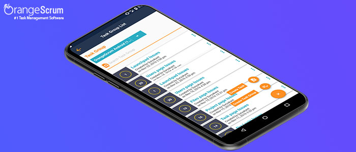 How to use OrangeScrum Mobile App