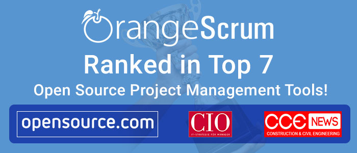 Orangescrum Ranked in Top 7 Open Source Project Management Tools
