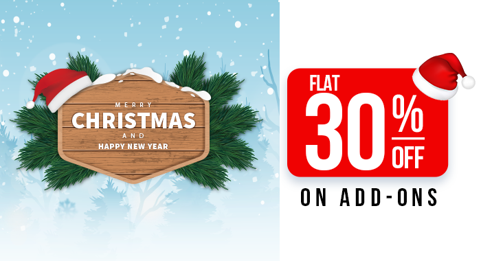 Orangescrum Happy Holidays Offer: Save Flat 30% OFF on Add-ons