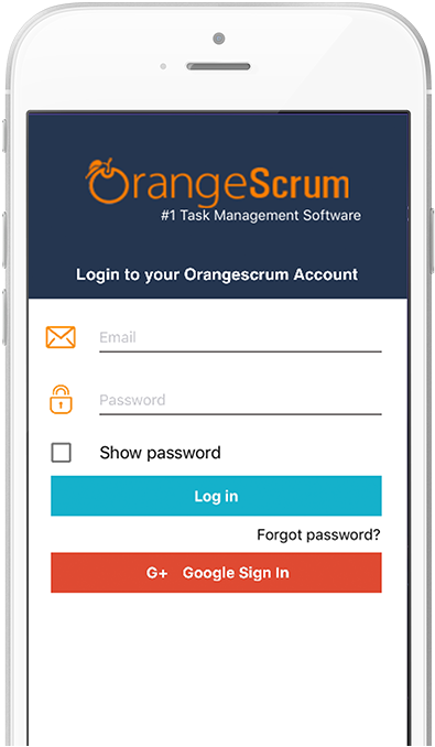 The Orangescrum Mobile App