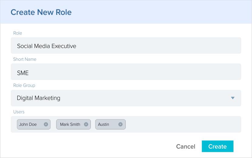 User role management