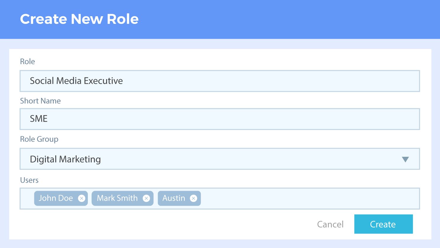 Create multiple role groups, roles and grant relevant privileges only