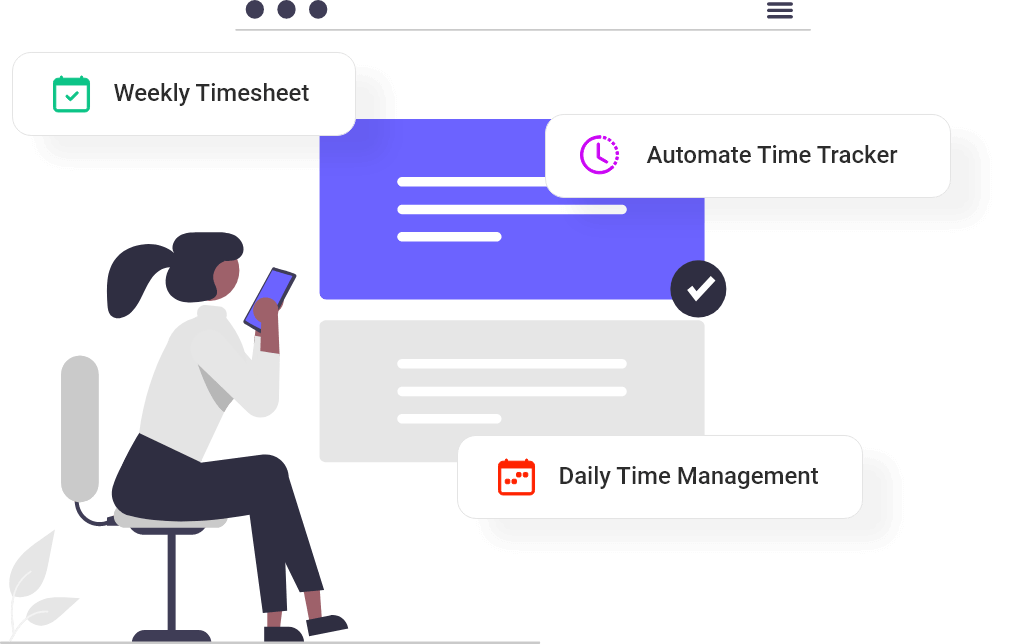 Make quick decisions with weekly timesheet