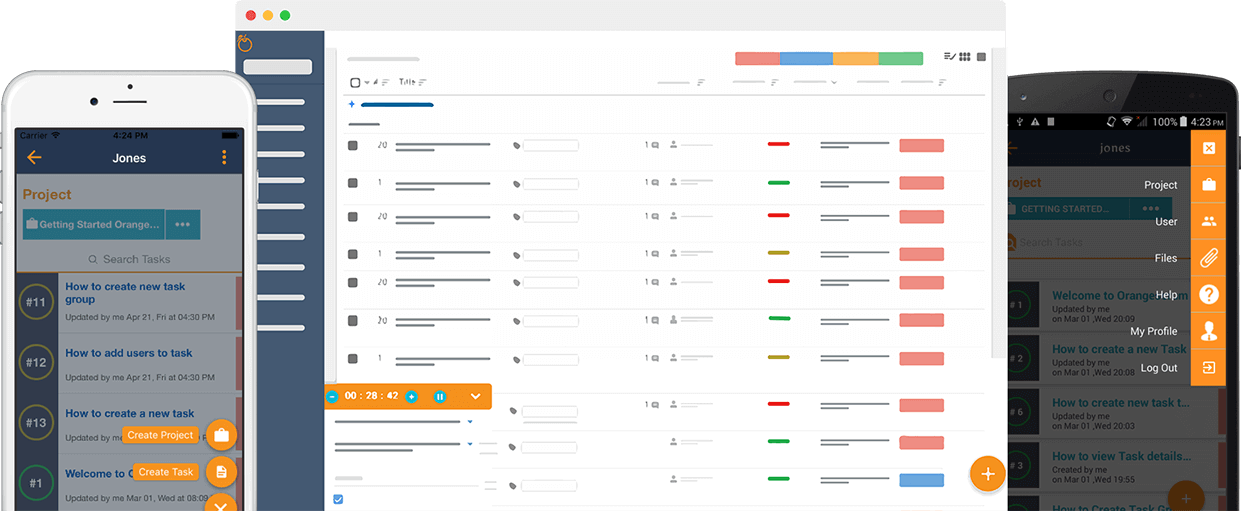 Orangescrum Project Management Tool