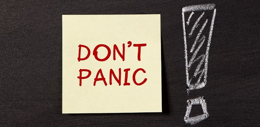 Stay Calm under pressure in Project Management