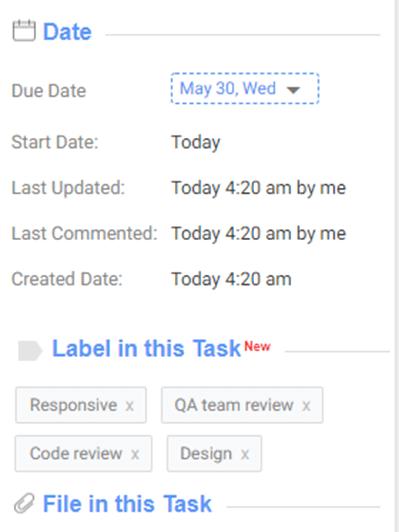 Task Label