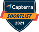 Capterra shortlist 2021